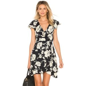 NEW Free People Floral Print Wrap Dress